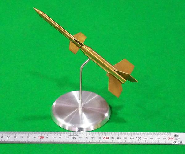 展示用ペンシルロケットa.画像